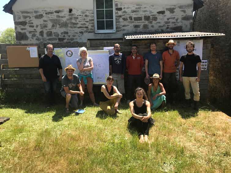 Habitat participatif et collaboratif réalisé par l'atelier d'architecture Mos, Morbihan