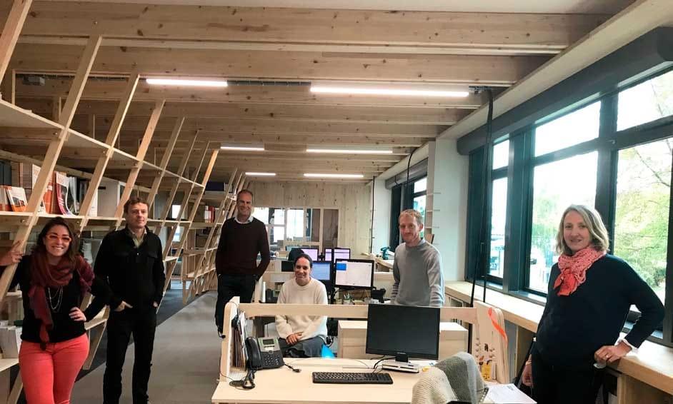 Aménagement bureaux en Ile-et-Vilaine