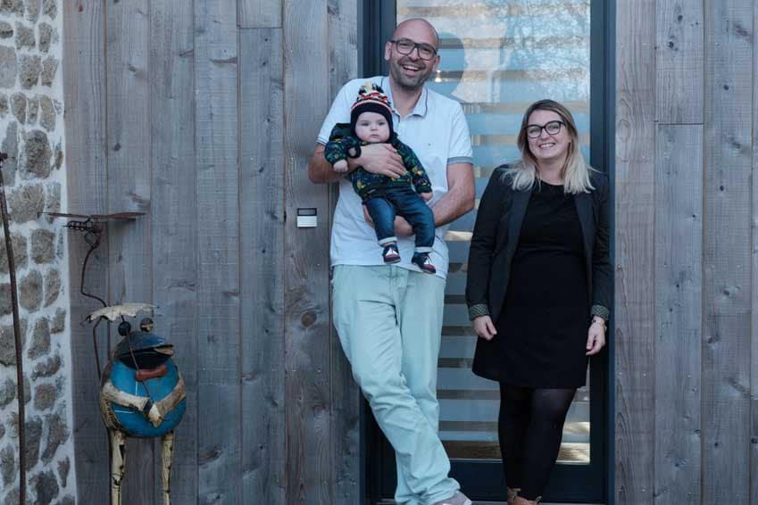 Projet de réaménagement d'une grange pour maison individuelle, Morbihan