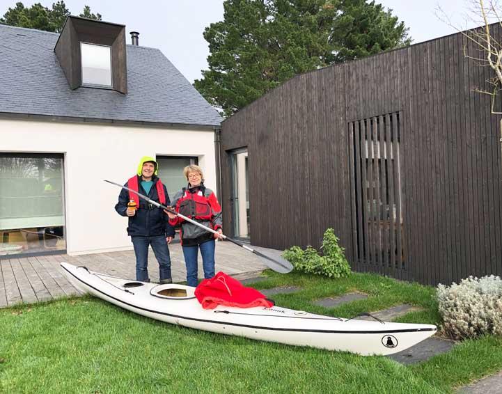 Rénovation et extension d'une maison existante, Morbihan