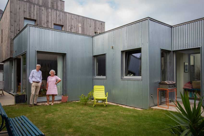 Habitation modulable située dans le Morbihan