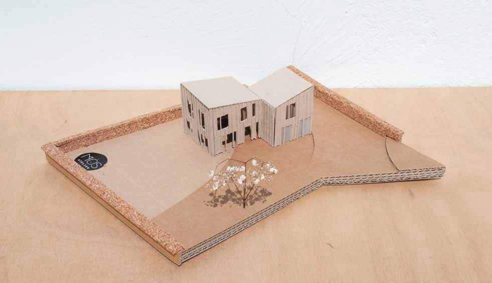 Projet architecture maison en ossature bois, Morbihan