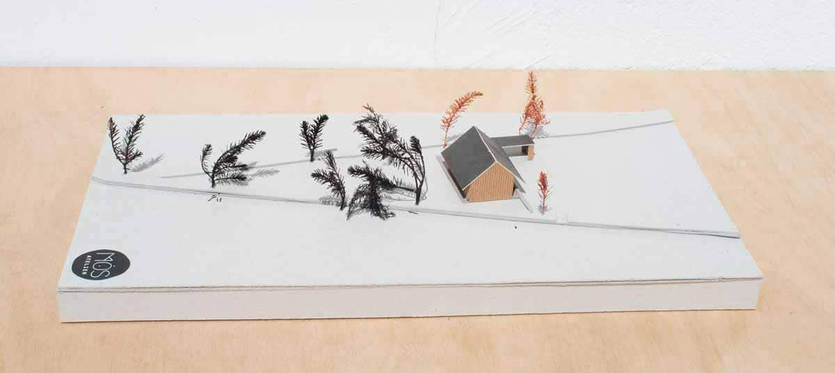 Projet architecture pour une habitation en matériaux sains, réduisant son impact sur l'environnement, Morbihan