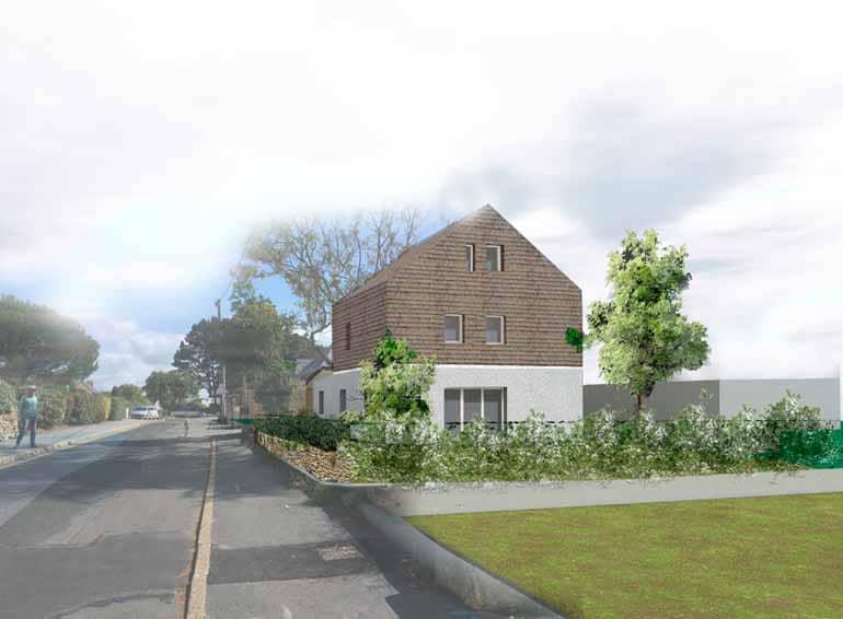 Atelier d'architecte MOS, projet d'habitat éco-conçu